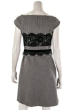 Karen Millen houndstooth and lace sleeveless shift dress Size S | UK 10  [40% OFF] - OWN THE COUTURE