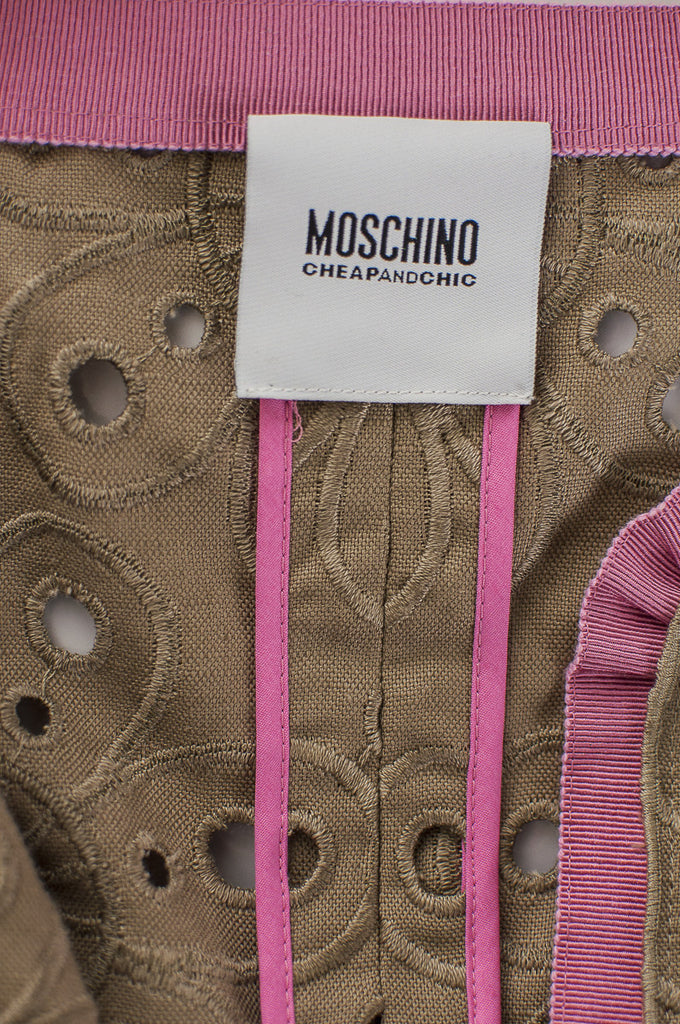 Moschino Cheap and Chic eyelet coat Size S | IT 42 - OWN THE COUTURE