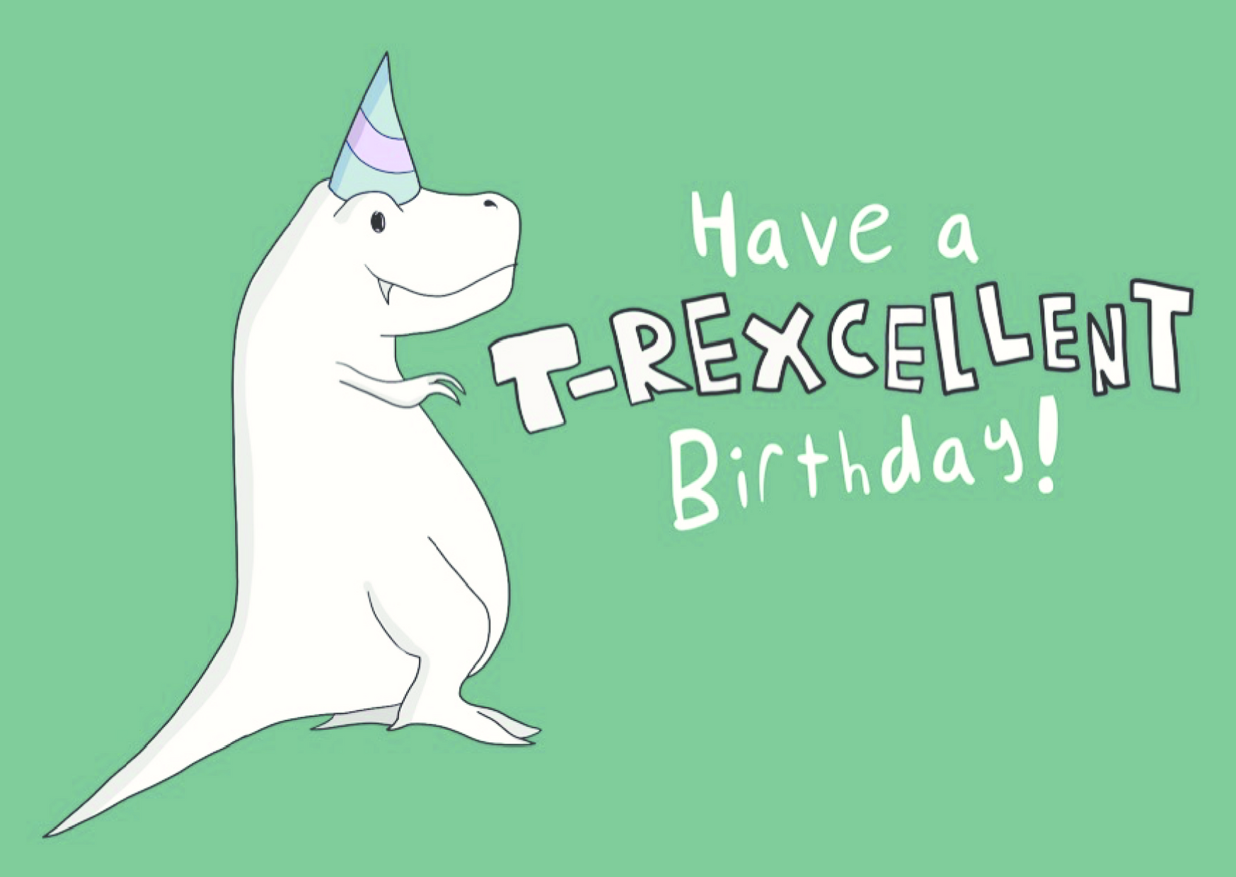 T-Rexcellent Birthday - Happy Dragon Studios