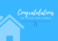 Load image into Gallery viewer, Congratulations - New Home Postcard