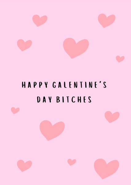 Happy Galentine's Day B*tches