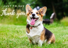Load image into Gallery viewer, Thank You - Corgi