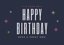 Load image into Gallery viewer, Happy Birthday