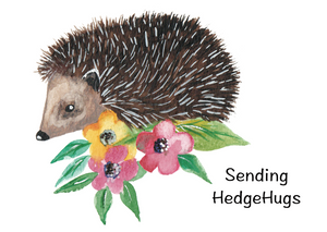Sending HedgeHugs - Elizabeth Amy Designs