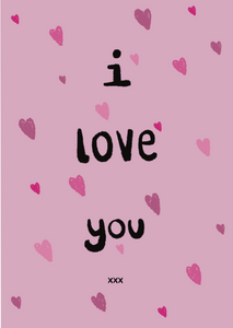 I Love You - Triple Kiss Designs