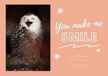 Load image into Gallery viewer, Smile Postcard