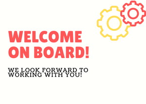 Welcome On Board Postcard