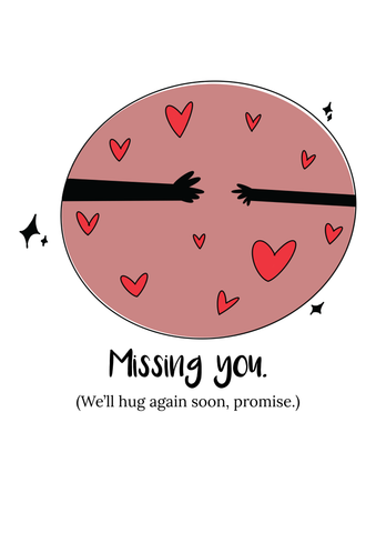 Missing You - Lucy Brown Designs