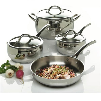 Stainless cookware 7 pc set