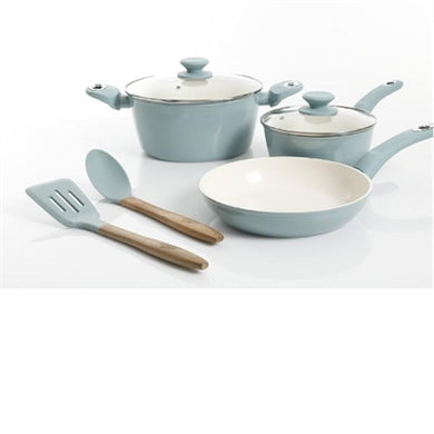 7 pc cookware forged alum