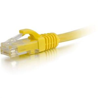 1' CAT6 Snagless Patch YLLW