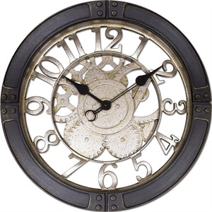 "16"" Gears Wall Clock"