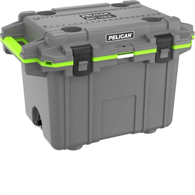50Qt Elite Cooler Dkgry Grn