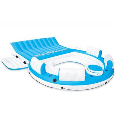 Relaxation Island blue white