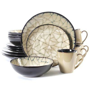 GE Zambezi Dinnerware 16pc
