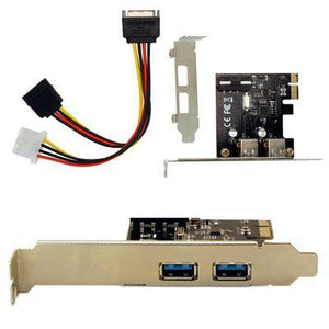 2 Port USB 3.0 PCIe SFF Intern
