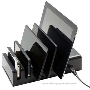 5 Device Charging Station