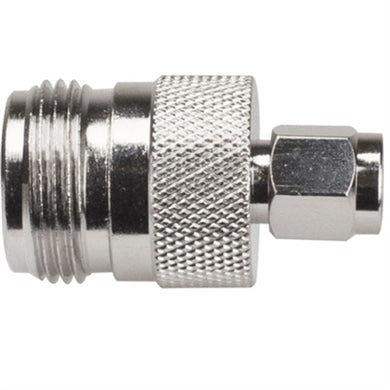 N Female  SMA Male Connector
