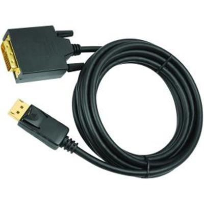 10' DisplayPort to DVI Cable