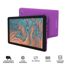 "Load image into Gallery viewer, 10.1"" QuadCore Tablet Purple"