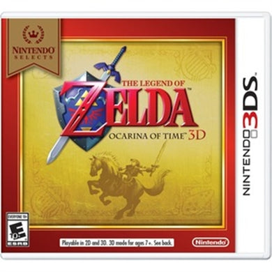 Legend Of Zelda Ocarina 3ds