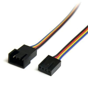 "12"" 4 Pin Fan Power Ext Cable"