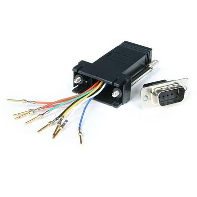 Startech.com Db9 Male To Rj45 Female Adapte