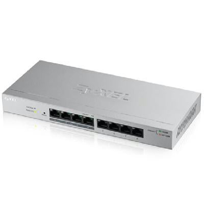 Fanless 8 Port GbE POE Plus