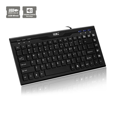 SIIG USB 87 Key Mini Keyboard
