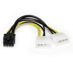 "6"" Lp4 To 8 P"" Pcie Adapter"