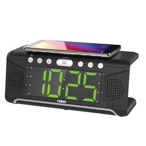 "Dual Alarm Clock 1.8"" Display"