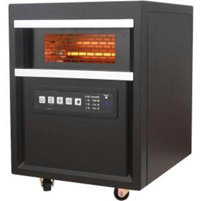 RC Infrared Quartz Heater Blk