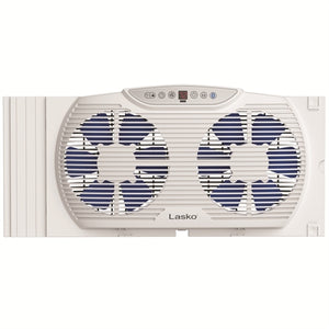 Twin Window Fan with Bluetooth