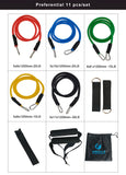 11 Piece Resistance Band Set + Gift Bag