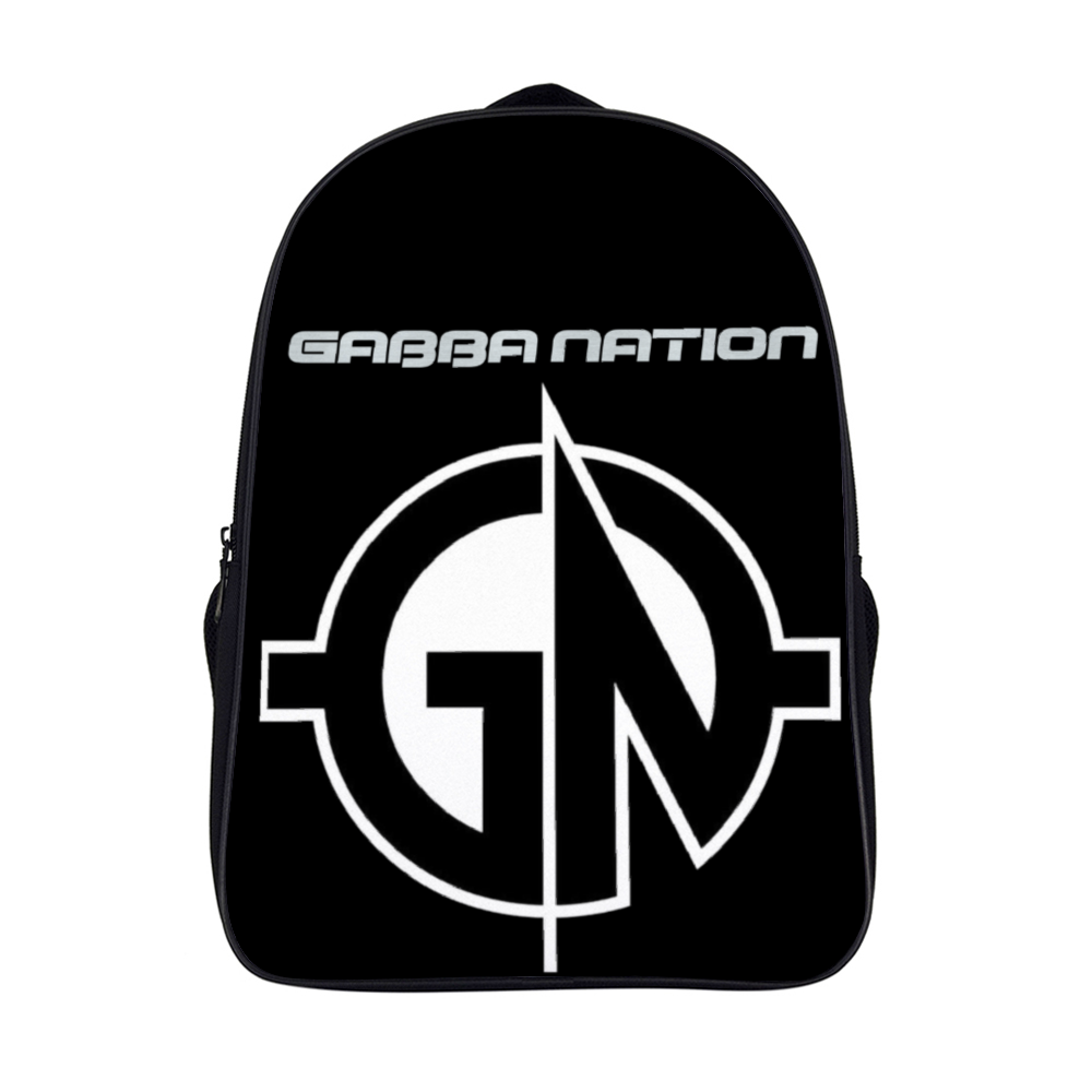 "GABBA-NATION Backpack School Bag Shoulder Backpack, Lightweight Backpack for School, Casual Daypack for Travel 11"" x 15.7"" x 6.3"""