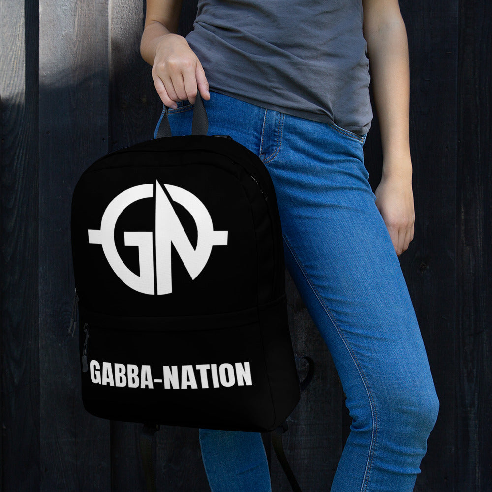 Gabba Nation 2021 Backpack - Crash Beat Recordz