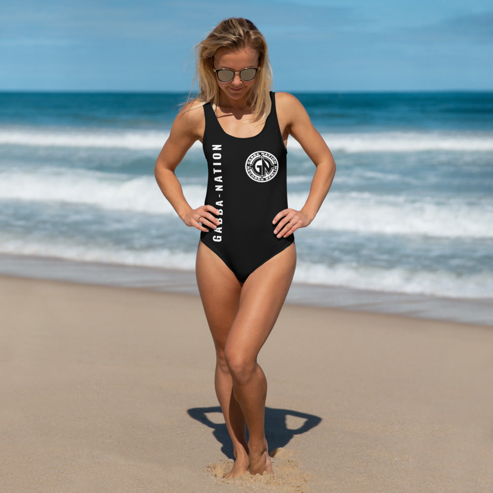GABBA-NATION GABBERINA One-Piece Swimsuit - Crash Beat Recordz