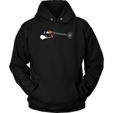 Load image into Gallery viewer, Aggression Snowboard's Kid On Bike Hoodie