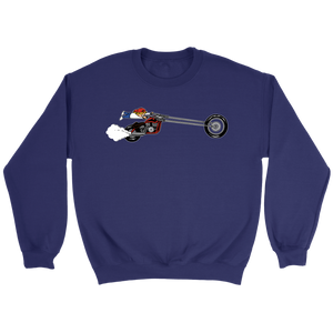 Aggression Snowboard's Kid On Bike Sweatshirt