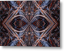 Load image into Gallery viewer, Mandala 001a - Metal Print