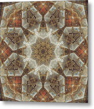 Load image into Gallery viewer, Mandala 006b - Metal Print