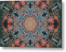 Load image into Gallery viewer, Mandala 007b - Metal Print
