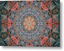 Load image into Gallery viewer, Mandala 007c - Metal Print