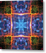 Load image into Gallery viewer, Mandala 011a - Metal Print