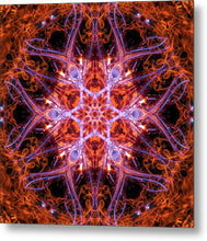 Load image into Gallery viewer, Mandala 012b - Metal Print