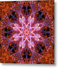 Load image into Gallery viewer, Mandala 012c - Metal Print