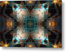 Load image into Gallery viewer, Mandala 020a - Metal Print