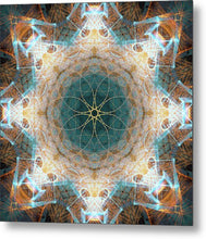 Load image into Gallery viewer, Mandala 020b - Metal Print