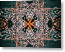 Load image into Gallery viewer, Mandala 023a - Metal Print