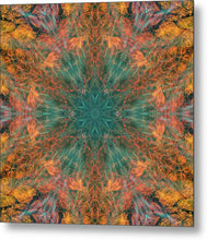 Load image into Gallery viewer, Mandala 025a - Metal Print